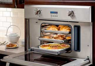 Steam oven repair by Boise Appliance Repair.