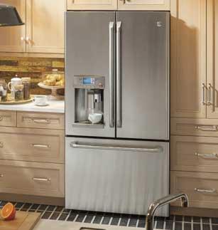 GE refrigerator repair by Boise Appliance Repair.